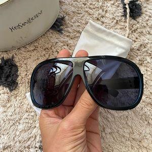 YSL Aviator Sunglasses EUC